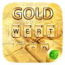 Gold Pro GO Keyboard Theme 4.5 APK Download