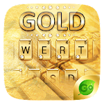 Gold Pro GO Keyboard Theme 4 Apk