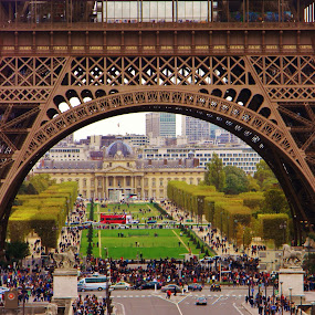 Paris Through by Gary Ambessi - Buildings & Architecture Statues & Monuments