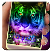 Neon Tiger Keyboard Theme Android APK Download Free By Cool Keyboard For Android-2018 Theme Apps
