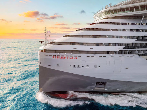 resilient-lady-closeup.jpg - Resilient Lady is scheduled to debut in late 2022 as Virgin Voyages' third ship.
