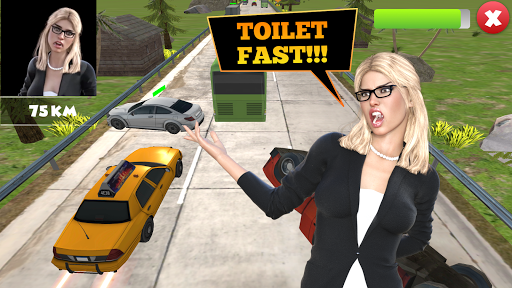 Toilet Racer: Taxi Game & Traffic Racer screenshot 1