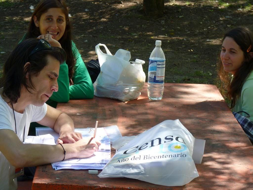 Censo en Camping de Parana