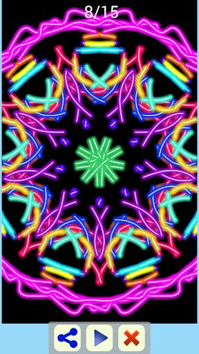 玩免費遊戲APP|下載Magic Paint Kaleidoskope app不用錢|硬是要APP