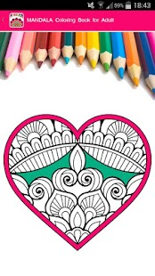 Tải Game Mandala Coloring for Adults