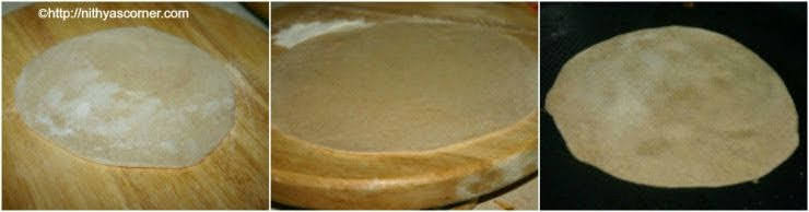 How to make puffed up rotis