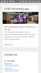 OCBC SG Mobile Banking - screenshot thumbnail