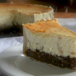 Holiday Hot Buttered Rum Pecan Pie Toffee Cheesecake