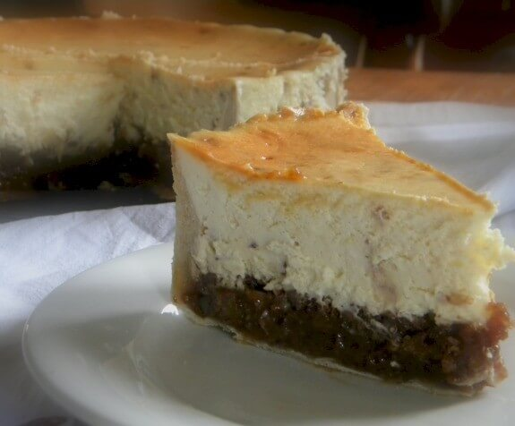 Holiday Hot Buttered Rum Pecan Pie Toffee Cheesecake Recipe | Yummly