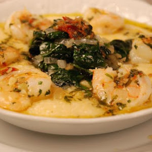 A Southern Belle Visits Provence (Shrimp & Grits Provencal Style)