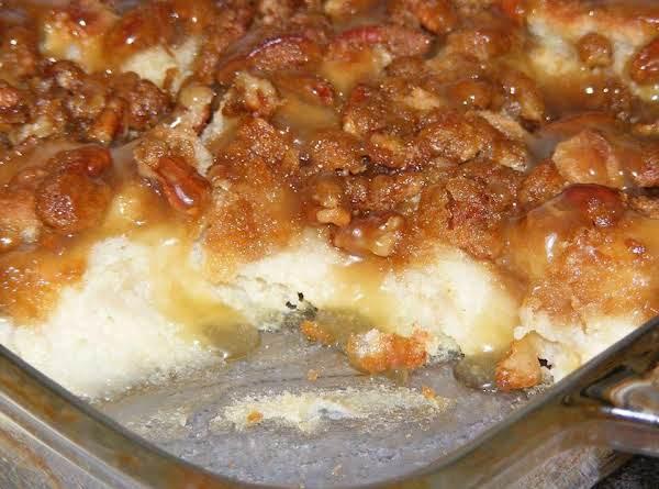 Pecan Praline Bread Pudding