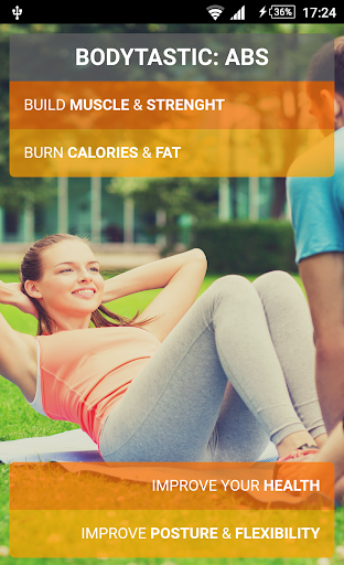 Bodytastic:Ab Workout Six Pack screenshot 1