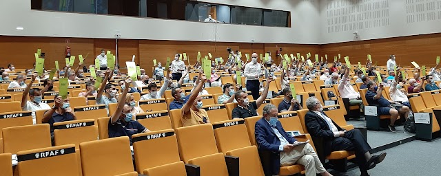 Una de las votaciones realizadas.