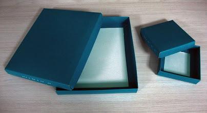 Photo: Caixas em diversos tamanhos com laminação fosca.