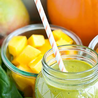 Pumpkin Spice Green Smoothie.
