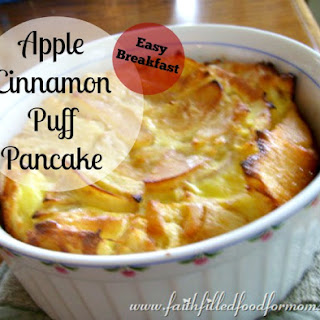 Apple Cinnamon Puff Pancake
