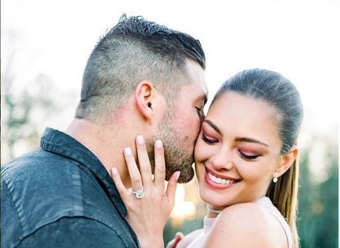 Demi-Leigh and Tim are set to tie the knot.