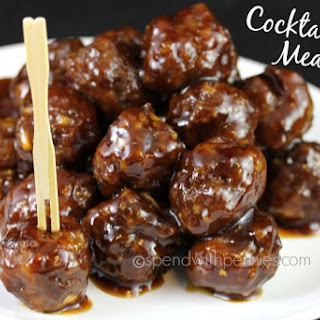 Amazing Cocktail Meatballs! (These are always a hit!).