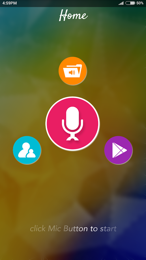 Funny Voice Changer- screenshot