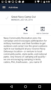 NavyMWR Newport- screenshot thumbnail