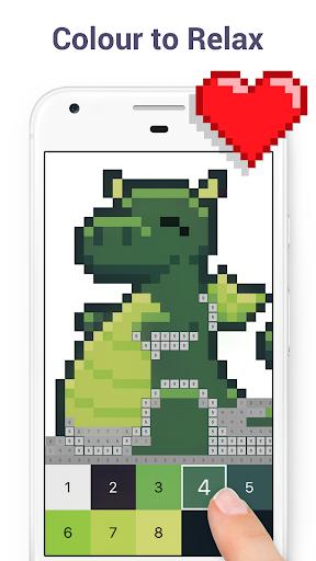 Pixel Art - Colour by Number Book 2.1.2 screenshots 1