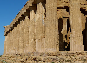 Photo: Temple of Concord, with preserved cella
