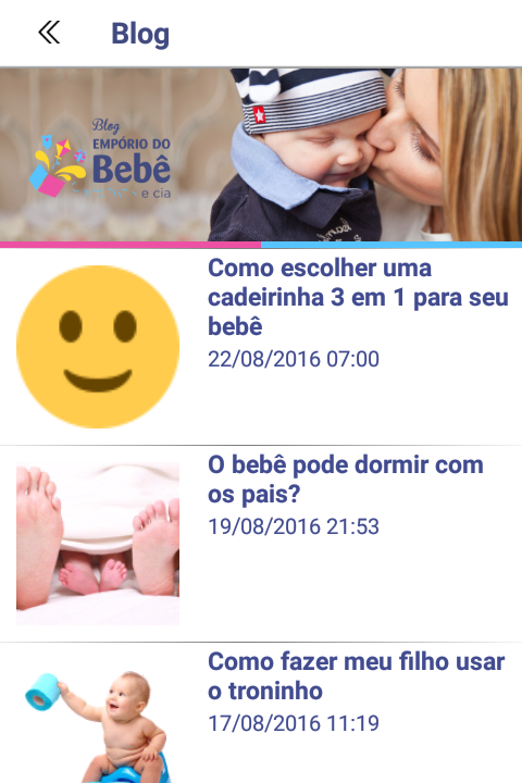 Empório do Bebê e Cia- screenshot