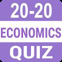 20-20 Economics Quiz icon
