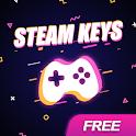 Gamekeys - free Steam keys icon