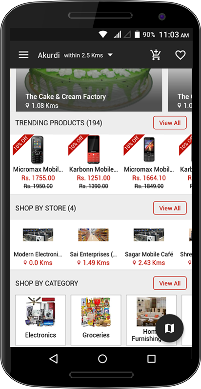 AmodaDeals UserApp- screenshot