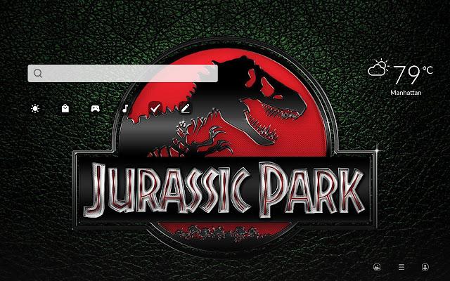 Jurassic Park HD Wallpapers New Tab