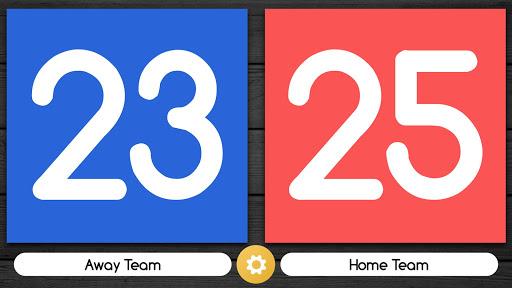 Scoreboard Free Volleyball & Basketball Swipe Up screenshots 4