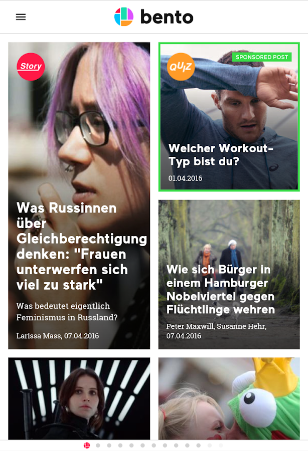 bento - news, web, stories- screenshot