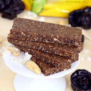 Coconut Cashew Energy Bars