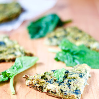 Fresh Spinach Quiche (Vegan, Gluten-Free & Oil-Free)
