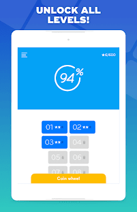 94% - Quiz, Trivia & Logic Screenshot