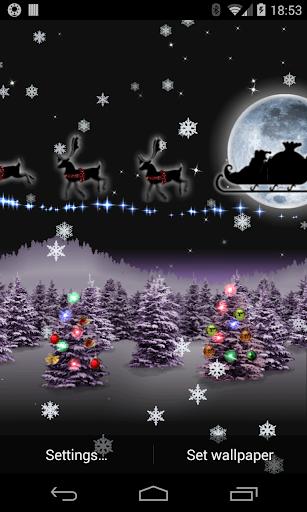 Christmas Live Wallpaper Santa cheat hacks