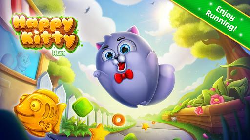 Happy Kitty Run APK MOD screenshots 1