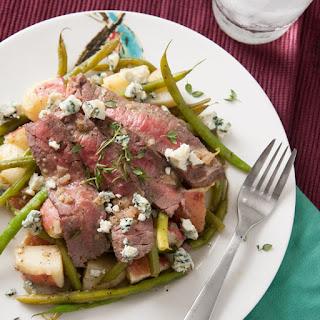 Sliced Flank Steak, Haricot Vert & Potato Salad