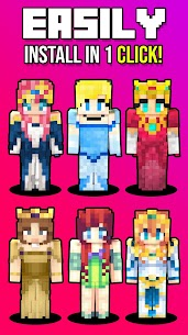 Princess Skins 5