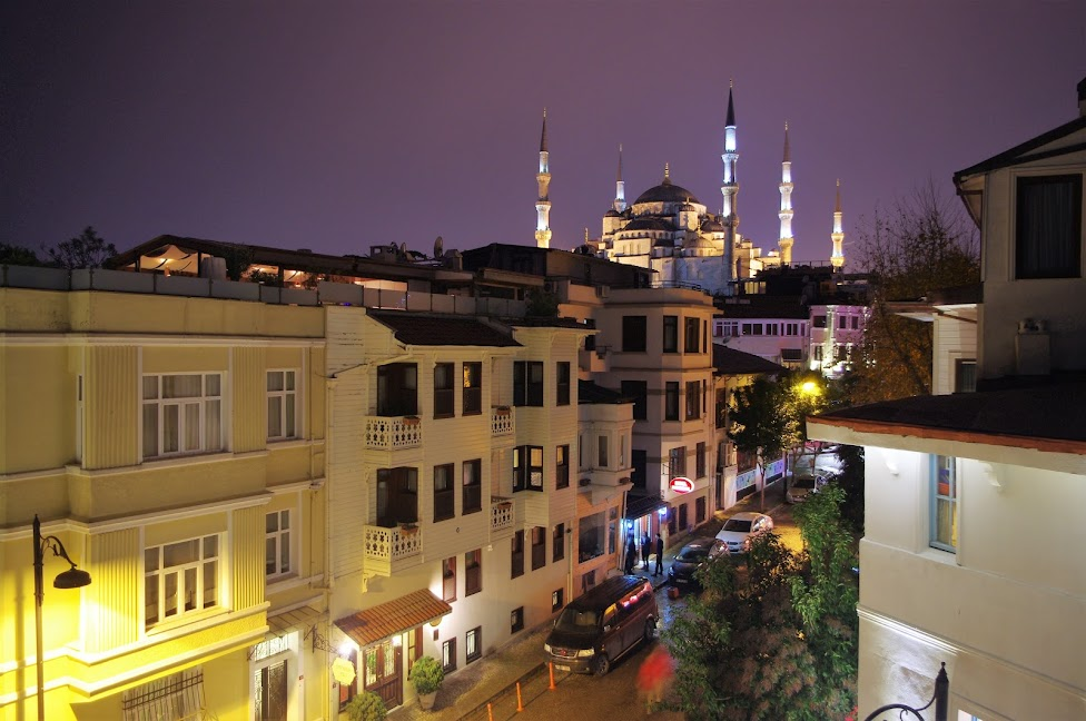 Qué ver en Estambul. Vistas desde la terraza del hotel