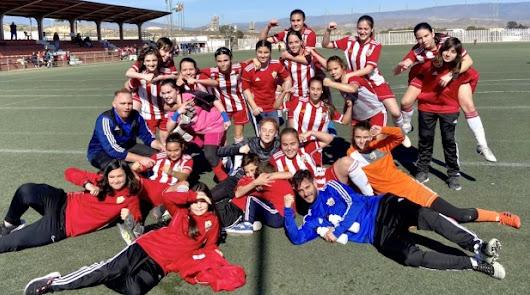 El equipo Cadete Femenino, campeón de Liga