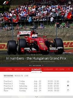 Official F1 ® App screenshot 05