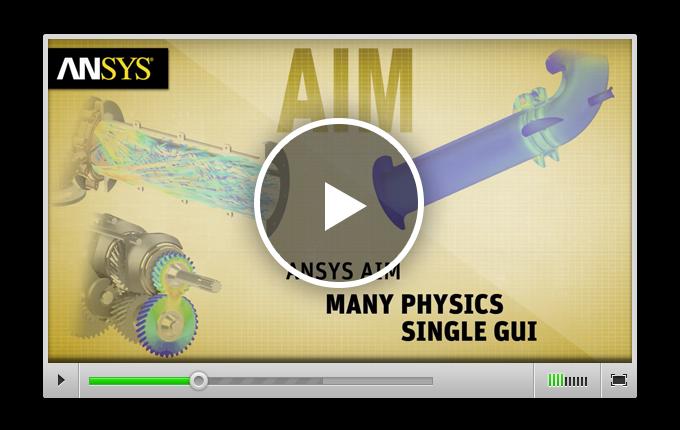 Краткий обзор AIM из популярной серии видеороликов «ANSYS in Action»