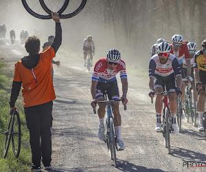 Mathieu van der Poel veruit allerbeste in prachtige kopgroep en pakt met flitsende demarrage winst in Strade