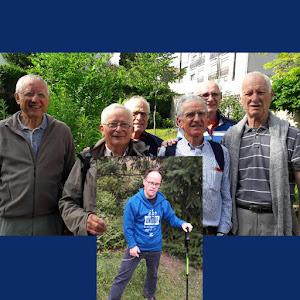 Les pères de famille, parrainés par Mathieu, pour soutenir le projet de L'Arche à Clermont-Ferrand !