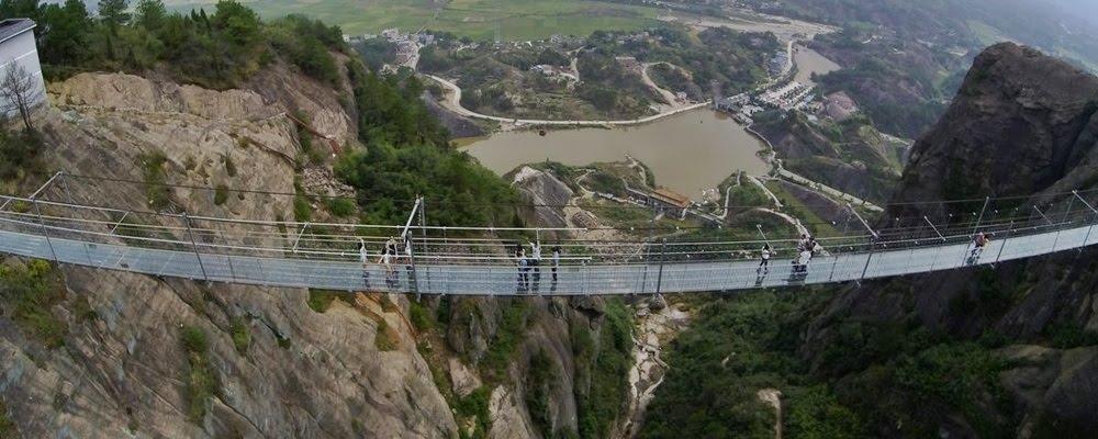 Haohan Qiao, a ponte dos homens bravos na China