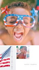 Happy Fourth Kiddo - Photo Collage item