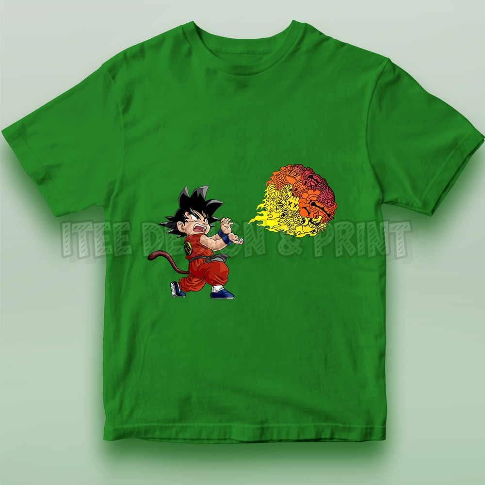 Goku Fireball Kamehameha Doodle 22