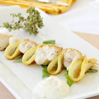 Light Chicken Lemon Skewers